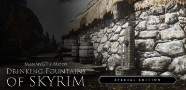 Drinking fountains of Skyrim for SSE