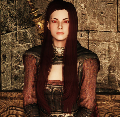SSE Serana 1.7 ENB  Default Hair