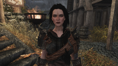 SSE Ria ENB w Ruh Eyes. Plus, proper armor for her skillset