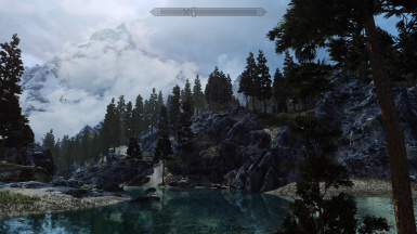 Darkside with rocky shores mod