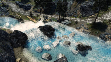 Looks great with rapid rocks & 3d rocks for extra realism