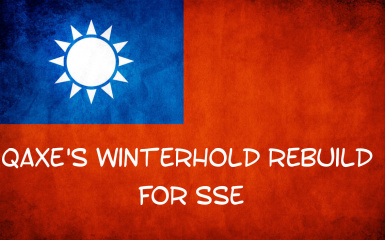Qaxe's Winterhold Rebuild for SSE - Traditional Chinese Translation