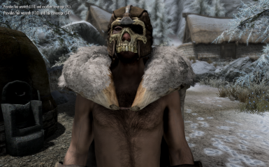 Bruma leather Armor Male Skin Texture Patch