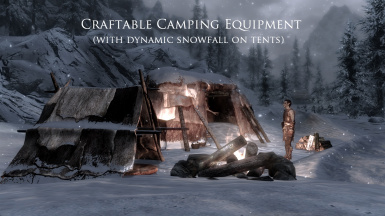 Craftable Camping Equipment