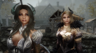 Dallas and Xevaria - Sexy Sisters of Battle by Kayden87 - Ported to SSE by bchick3