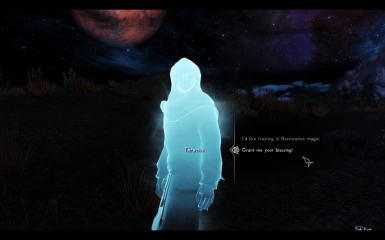 Found Thracius wandering at night