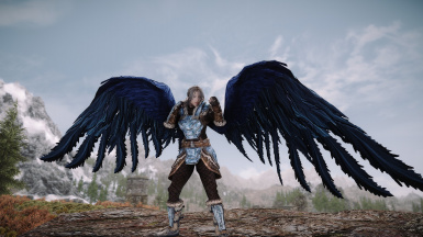 Animated Feathered Wings SE