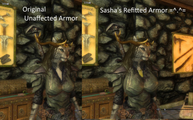 Sasha's Player Exclusive Armor Refitter