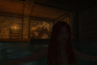 Bathing in privacy at Windstad