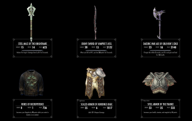 Set Items