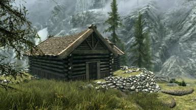 Riverwood Cliff Side Starter Player House WIP