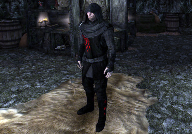 Archet's Dark Brotherhood - Shrouded Armor and Robe