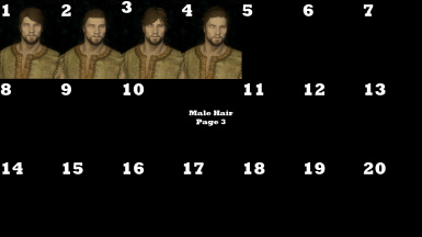 Male Hair Page 3