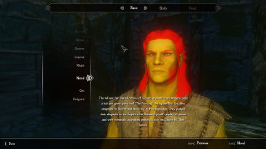 Extended Character Creation Imperious Color Patch