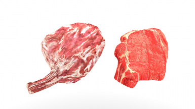 TEST Raw Beaf Meat Before After