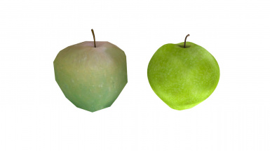 Green Apple Before After