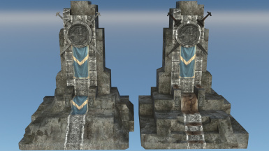 Windhelm Throne Before After