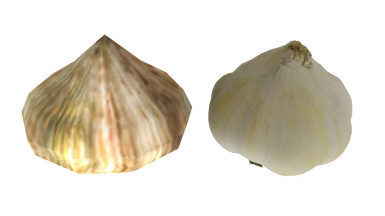 Garlic Before After