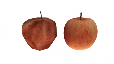 Red Apple Before After