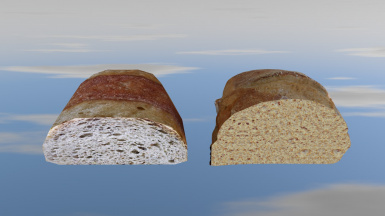 Bread Slice Before After
