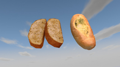 Garlic Bread Before After
