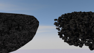 Smelter Coal Before After