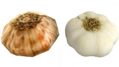 Garlic 2 Before After