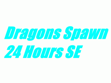 Faster Dragon Respawn Time