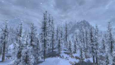 Obsidian Weathers and Seasons at Skyrim Special Edition