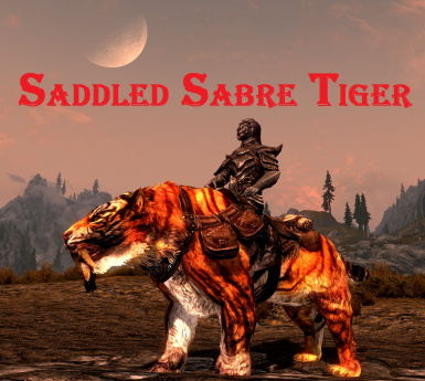Saddled Sabre Tiger