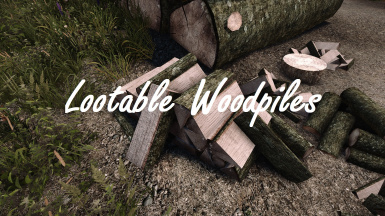 Lootable Woodpiles