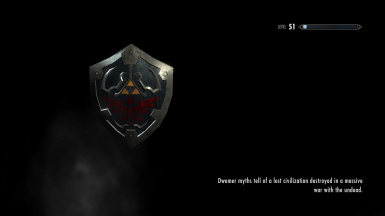 Hylian Shield Load Screen