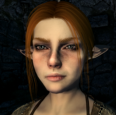 Real Women of Skyrim   KS Hairdos SSE   Enhanced Character Edit SE
