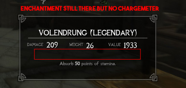 Unlimited Charge for Daedric Artifacts and other Unique Items - Turkish Translation