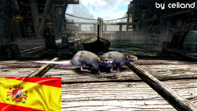 Sewer Rats - Mihail Monsters and Animals (SSE) Espanol