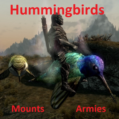 Hummingbirds Mounts