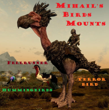 Mihails birds mounts