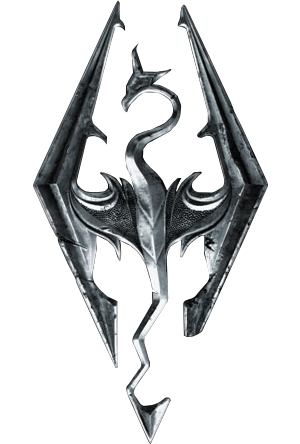 Elder Scroll V Skyrim SE Emblem