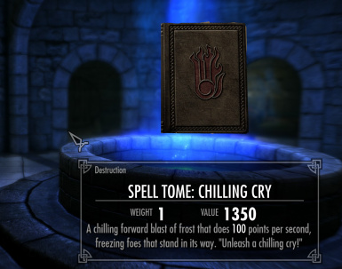Chilling Cry Tome