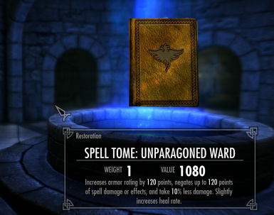 Unparagoned Ward Tome