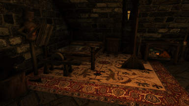 An Warrior themed room available for one of your followers in the Meadhall's basement