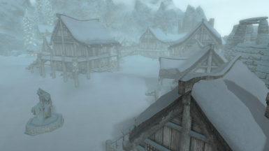 Winterhold Restored - No Snow Under The Roof Patch