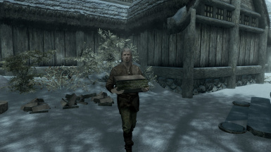 The new NPCs will carry firewood to their homes