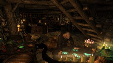 The new NPCs will visit the other businesses in Winterhold