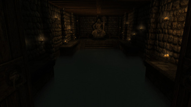 A pool of water available for those using bathing mods