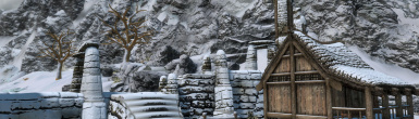 Winterhold Restored - Skyrim 3D Landscapes Patch