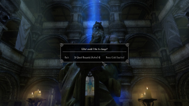 Bonus Gold for the merchants is disabled by default unlike the Quest Reward system