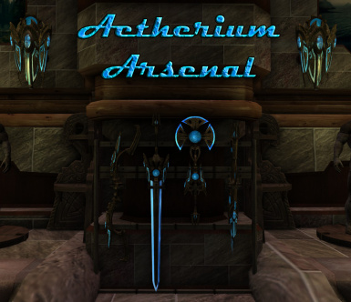 Aetherium Arsenal Title
