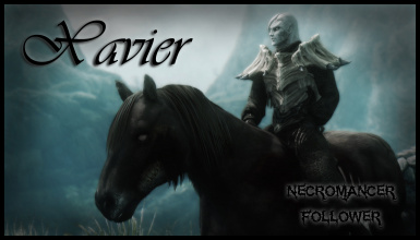 TDN Followers - Necromancer Follower - Xavier by Nightshade - Ported to SSE by bchick3
