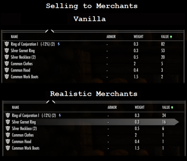 More Realistic or Harder Merchants